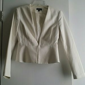 Bebe off white jacket